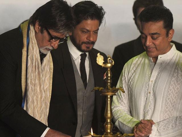 Big B, SRK, Kamal Haasan inaugurate Kolkata film fest