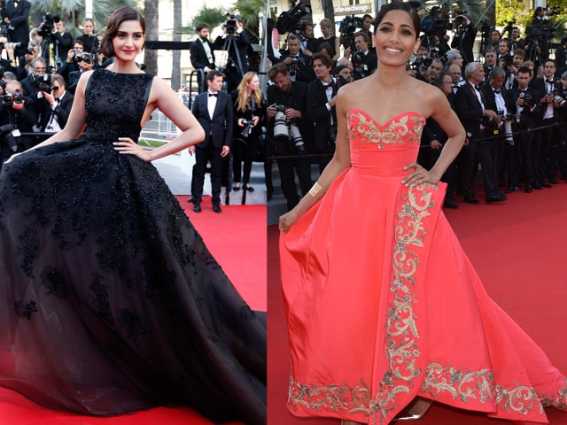 Sonam, Freida Make India Proud at Cannes