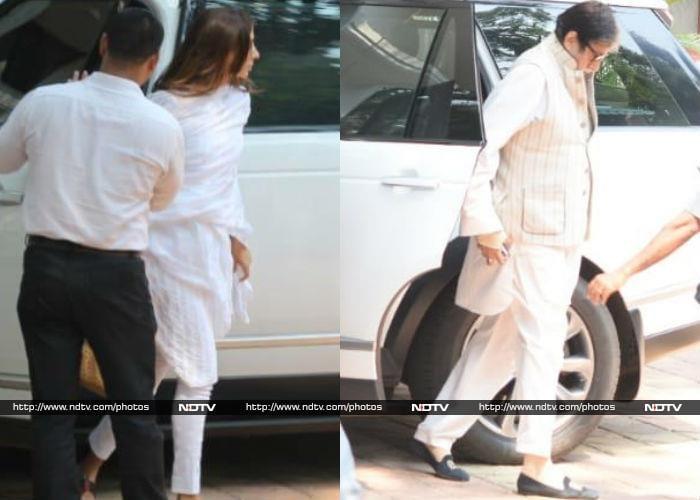 Kareena, Karisma And Other Kapoors Gather To Bid Adieu To Krishna Raj Kapoor