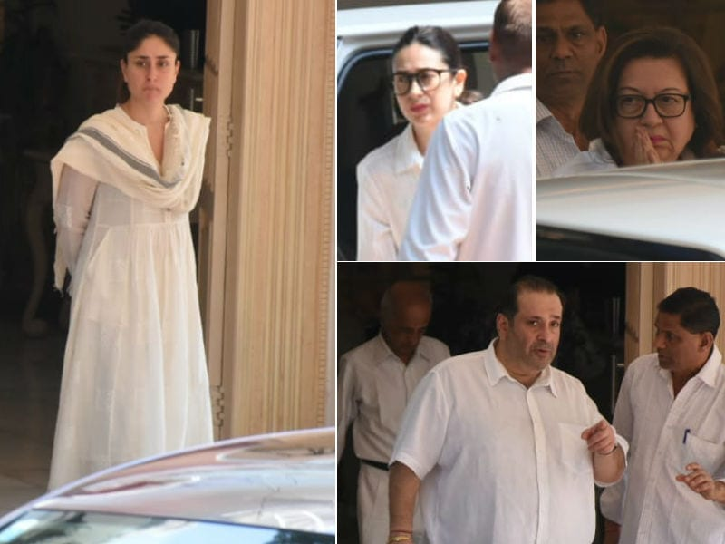Kareena, Karisma And Other Kapoors Gather To Bid Adieu To Krishna Raj Kapoor