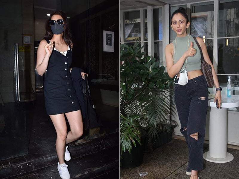 Photo : Chic Or Casual, Kriti And Rakul Can Do It All