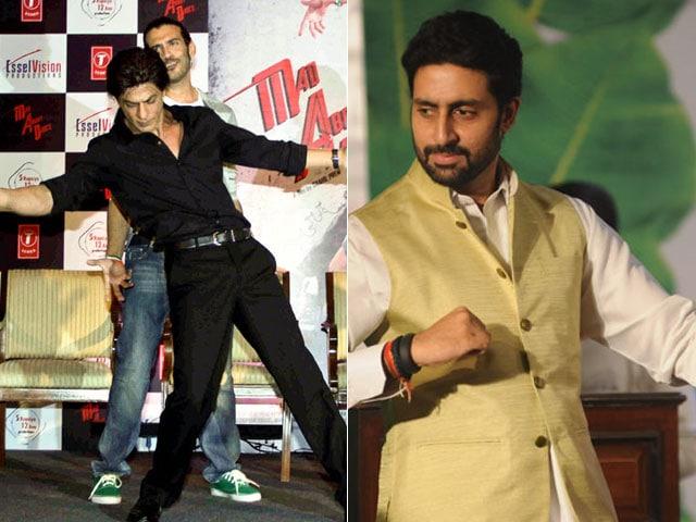 Photo : Mad About SRK, Junior Bachchan Ke Bol
