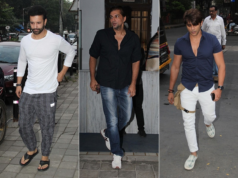 Aamir Ali, Chetan Hansraj And Karanvir Bohra At Kushal Punjabi's Prayer Meet
