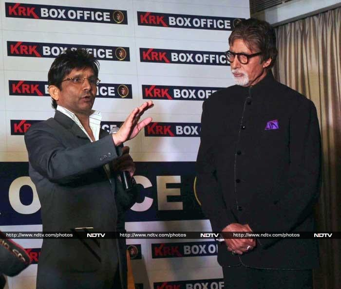 Big B Launches \'KRK Box Office\'