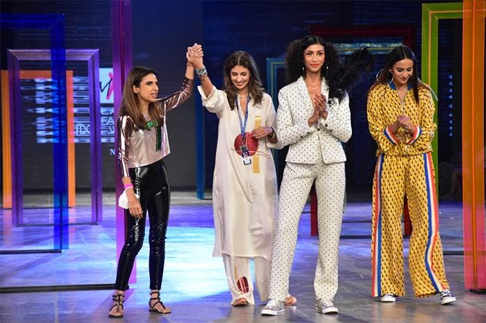 Lakme Fashion Week Day 1: Natasha Dalal Steals The Spotlight At Shweta Bachchan\'s Show