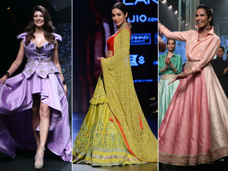 Lakme Fashion Week: Sushmita, Malaika, Padma Lakshmi Take Over The Ramp