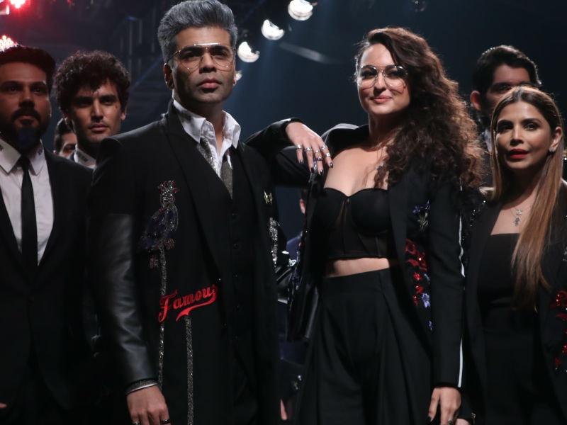 Lakme Fashion Week Day 3: Sorry, Sonakshi. Karan Johar Owns This One