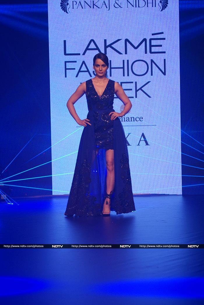 Kangana, Bipasha Were At Lakme Fashion Week But Neha\'s Baby Bump Stole The Show