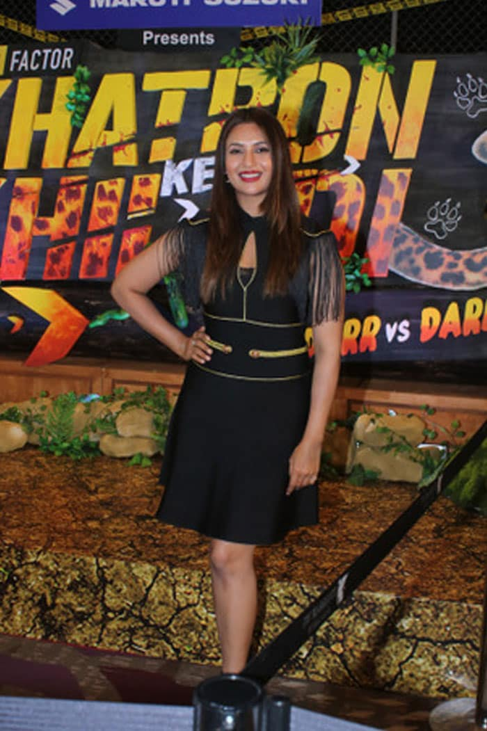 Nikki-Shweta, Divyanka Lit-Up Khatron Ke Khiladi Launch