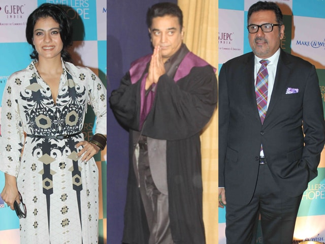 Photo : Actors' Roll Call: Kajol, Kamal, Boman