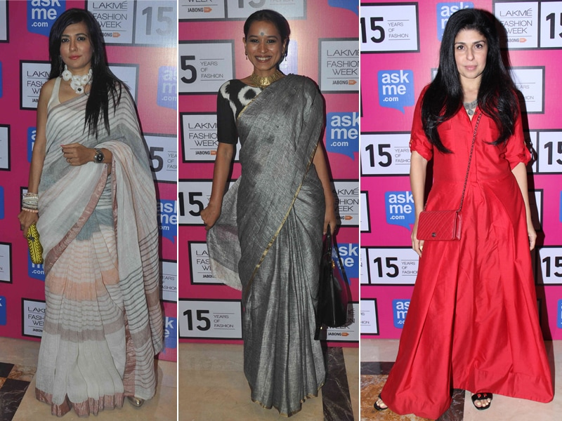 Fashionable at Fashion Week: Mini, Tillotama, Anaita Best Dressed Off-Ramp