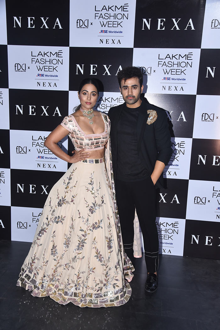 She posed with TV actor Pearl V Puri.
