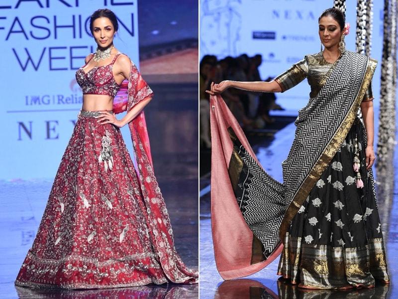 Lakme Fashion Week: Tabu And Malaika Arora's Glam Looks On Day 3