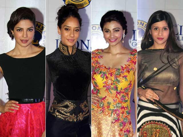 A Golden Night For Priyanka, Lisa, Daisy, Mannara