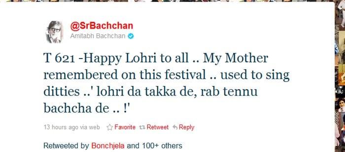 Celebs wish Happy Lohri