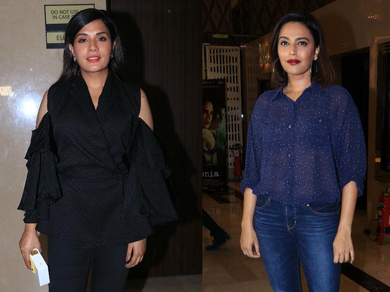Swara Bhasker, Sunny Leone Root For Richa Chadha's Love Sonia