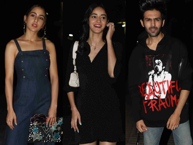 Ananya Panday, Sara Ali Khan's Luka Chuppi With Kartik Aaryan