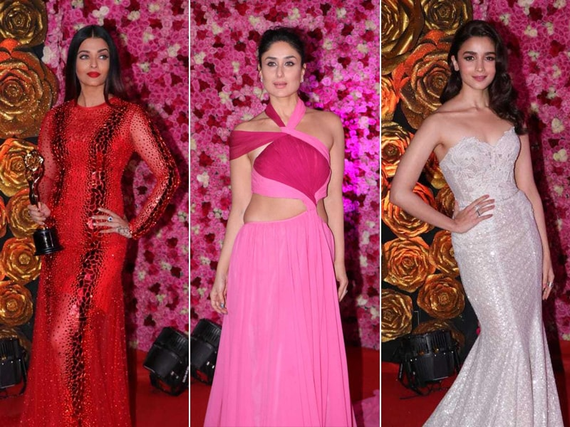 Aishwarya, Kareena And Alia Lead Celeb Roll Call At Lux Golden Rose Awards