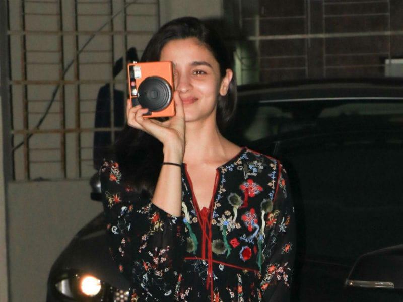 Say 'Cheese,' For Alia Bhatt
