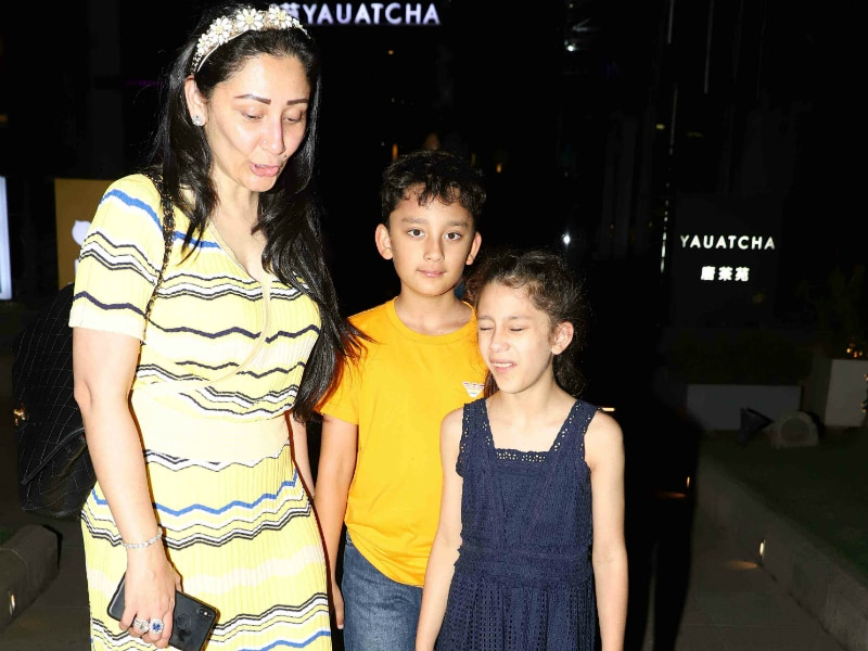 Inside Maanyata Dutt's Birthday Celebrations With Shahraan and Iqra