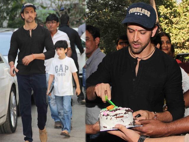 Happy Birthday Hrithik! Actor Celebrates Birthday With Sons