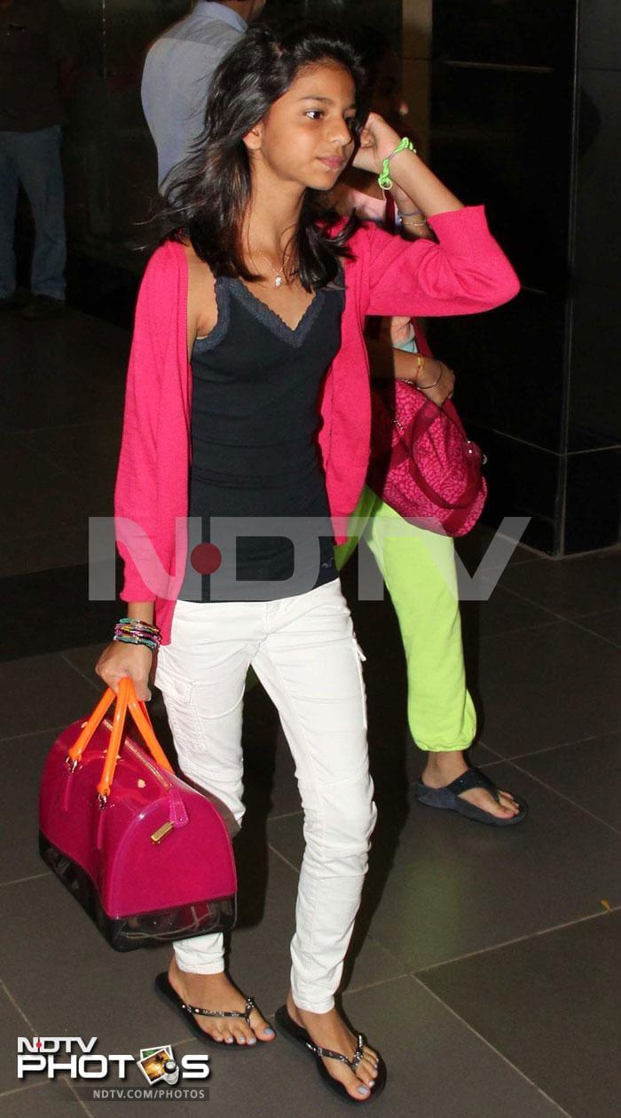 Suhana big enough to travel alone?