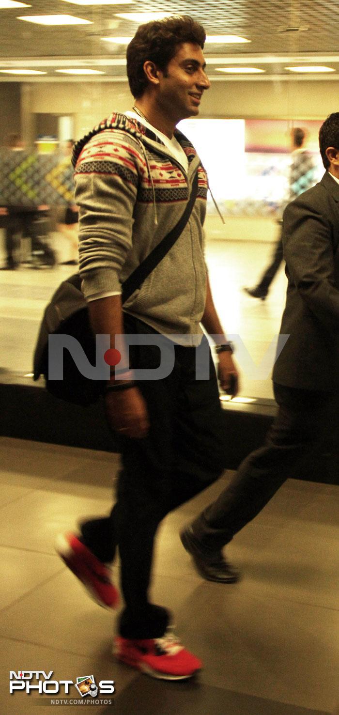 Abhishek Bachchan\'s airport diaries