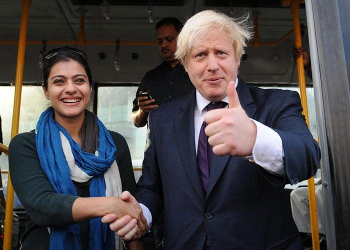 Kajol leaves London Mayor in economy class