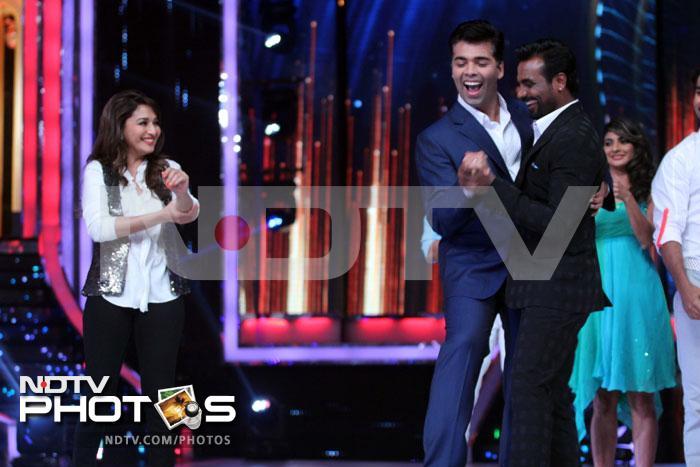 Madhuri and Karan\'s latakas and jhatakas