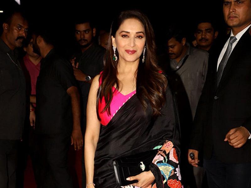 Madhuri Dixit Attends Hum Aapke Hain Koun Screening