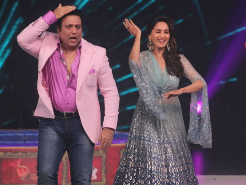 Photo : Madhuri Dixit And Govinda's Dance Moves Will Steal Your Heart