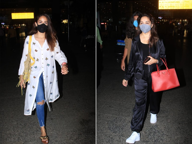 Photo : Star Studded Airport With Madhuri Dixit And Mira Rajput
