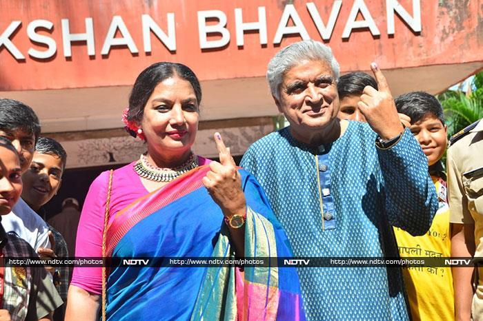 Maharashtra Assembly Election 2019: शाहरुख खान, आमिर खान समेत कई बॉलीवुड हस्तियों ने किया मतदान, देखें तस्वीरें...