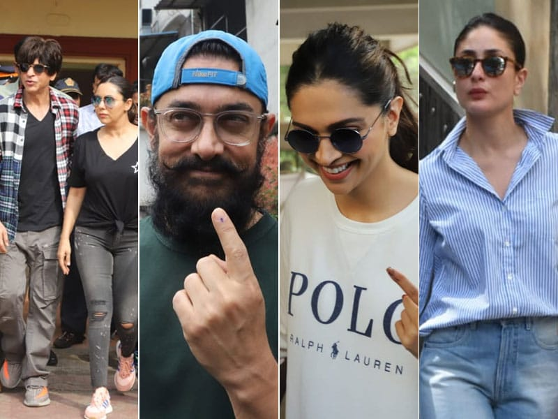 Maharashtra Assembly Election 2019: Shah Rukh Khan, Aamir Khan, Deepika Padukone, Kareena Kapoor And Other Celebs Vote