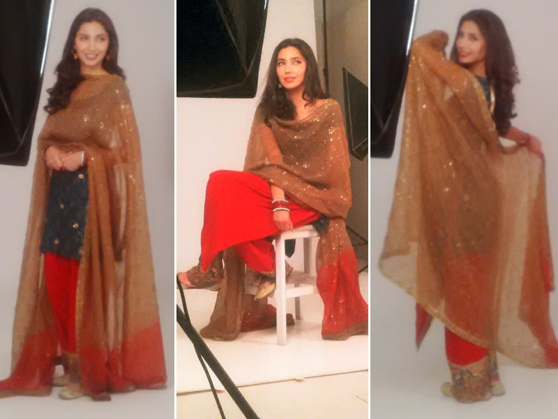 Picture Perfect: Mahira Khan, SRK's Raees Heroine