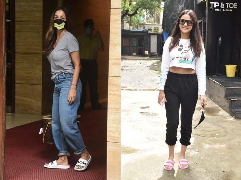 Photo : Keep It Casual Like Malaika Arora And Jasmin Bhasin
