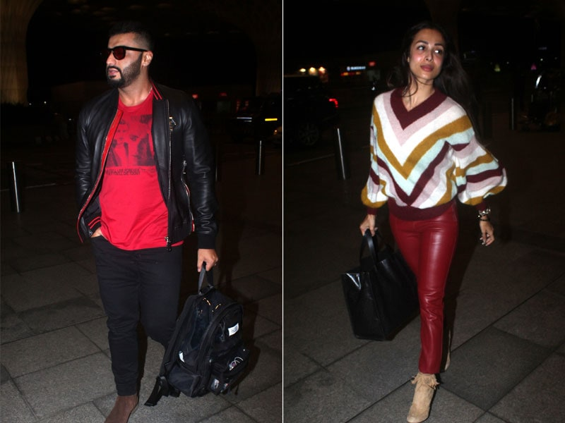 Malaika And Arjun Fly Out Together. Where To?
