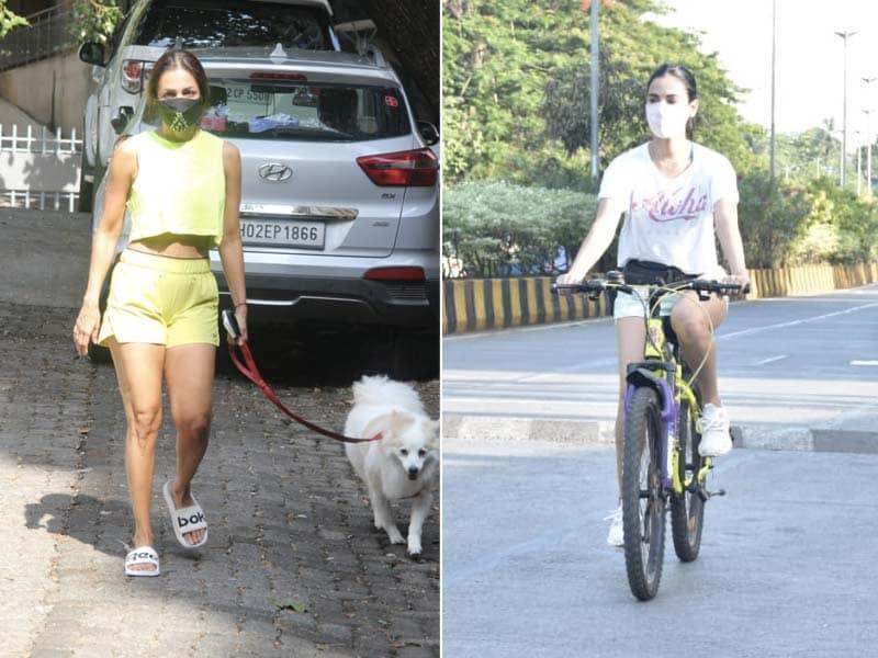 Photo : How Malaika Arora And Sonal Chauhan Spent Their Thursday