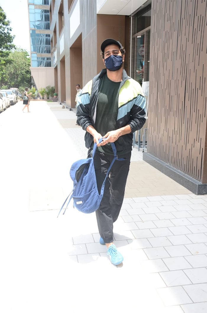 Vicky Kaushal was also spotted outside his gym.