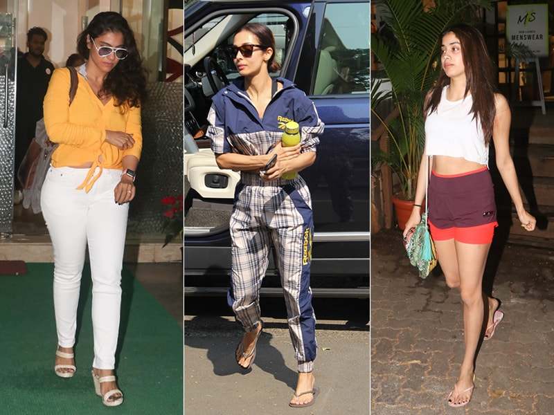 How Malaika Arora, Kajol And Janhvi Kapoor Brightened Up Mumbai