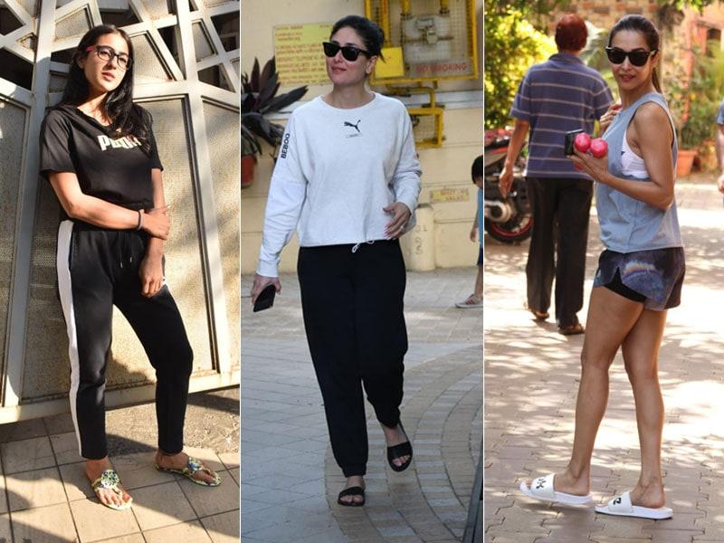 Catching Up With Kareena Kapoor, Malaika Arora And Sara Ali Khan