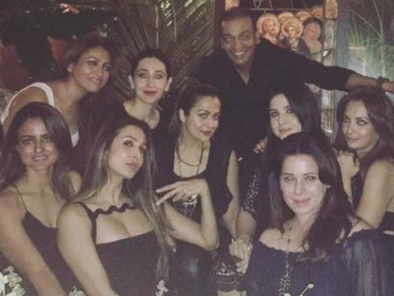 Inside Malaika's Party With Bestie Karisma And Sister Amrita