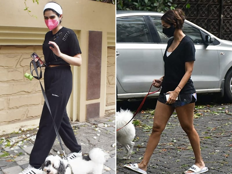 Photo : Malaika Arora And Khushi Kapoor's Day Out With Their Dogs