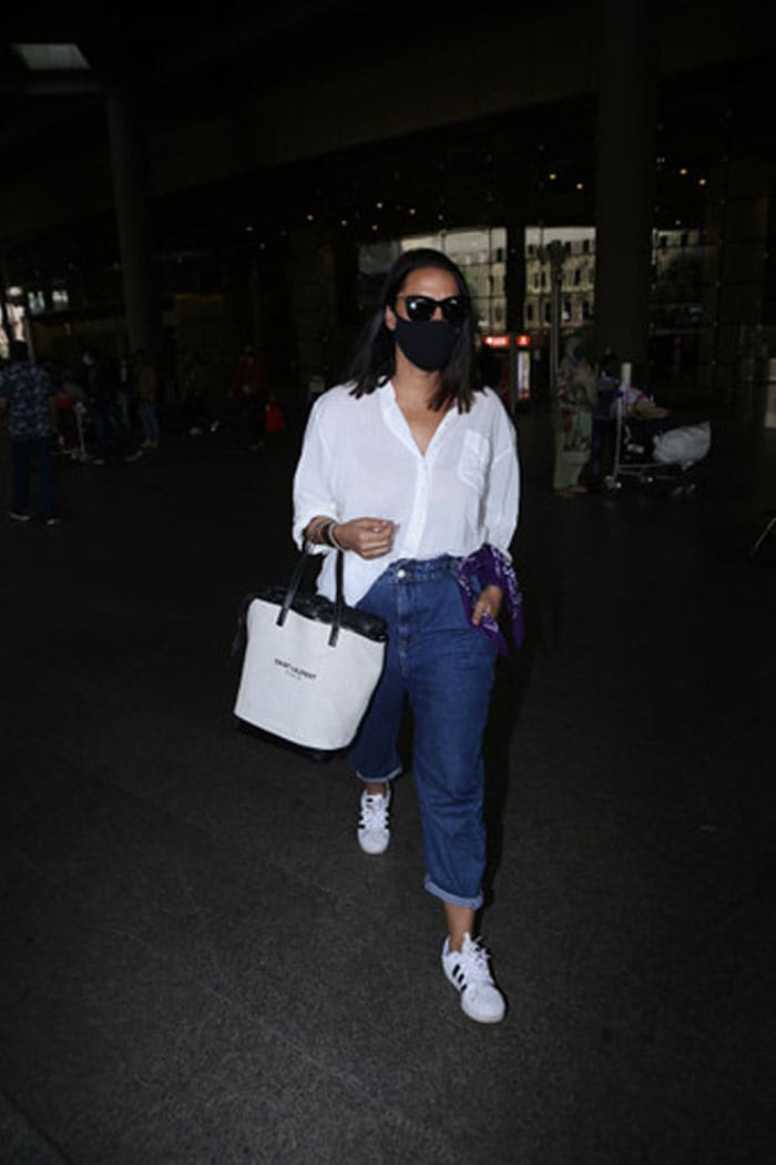 Airport Fashion Done Right, Courtesy Malaika, Neha And Karan Johar