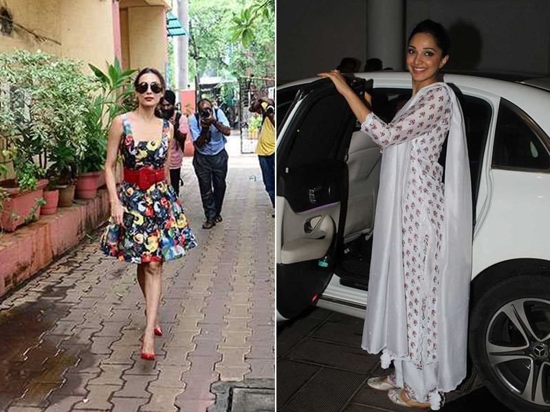 Inside Malaika Arora And Kiara Advani's Busy Tuesday