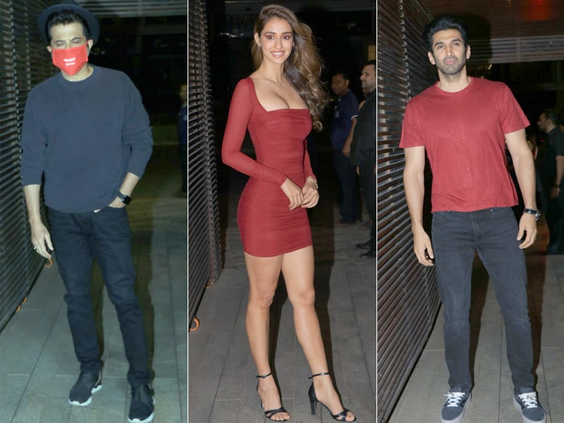 Disha Patani, Aditya Roy Kapur And Others Celebrated The Success Of Malang