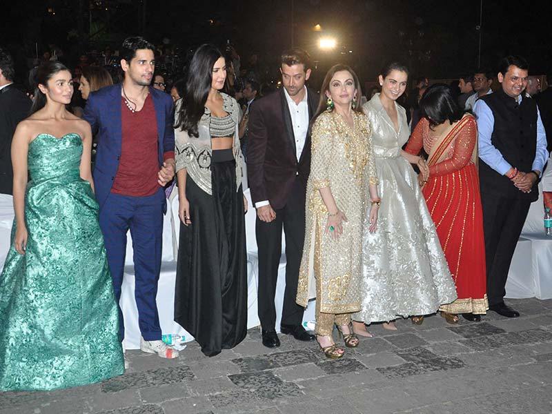 Kangana, Katrina, Ambanis Lead Celeb Roll Call at MAMI Film Festival