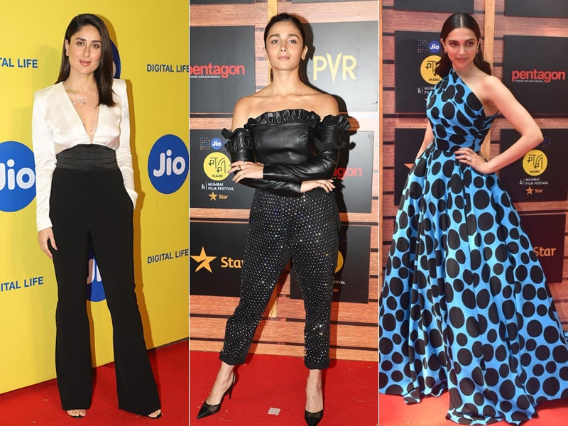 MAMI Film Fest Rolls With Kareena, Alia And Deepika On The Red Carpet