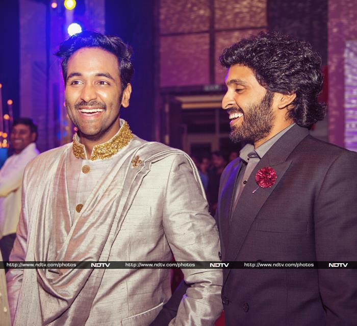 Exclusive: Inside Manoj Manchu\'s Sangeet and Haldi