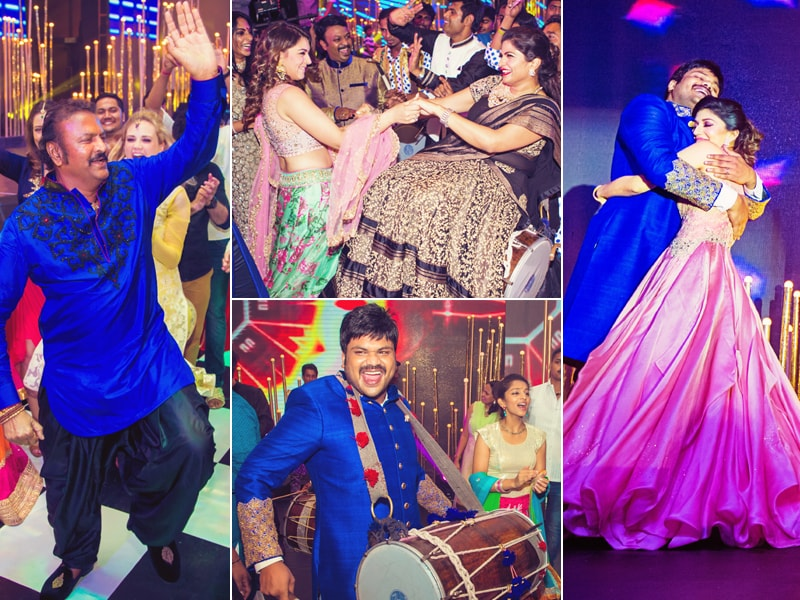 Exclusive: Inside Manoj Manchu's Sangeet and Haldi